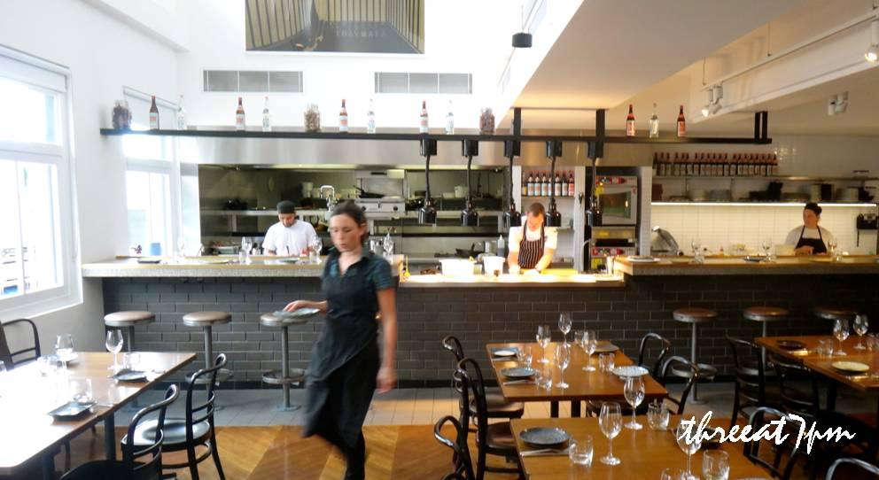 Restaurant Open Kitchen Layout threeat7pm | a food blog with recipes from restaurants